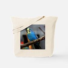 Budgie Flower Tote Bag