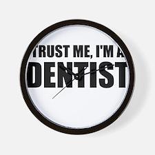Trust Me, Im A Dentist Wall Clock