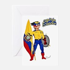 Capitan Ecuador Greeting Card