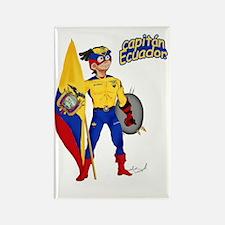 Capitan Ecuador Rectangle Magnet