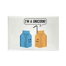 I'm A Unicorn! Rectangle Magnet