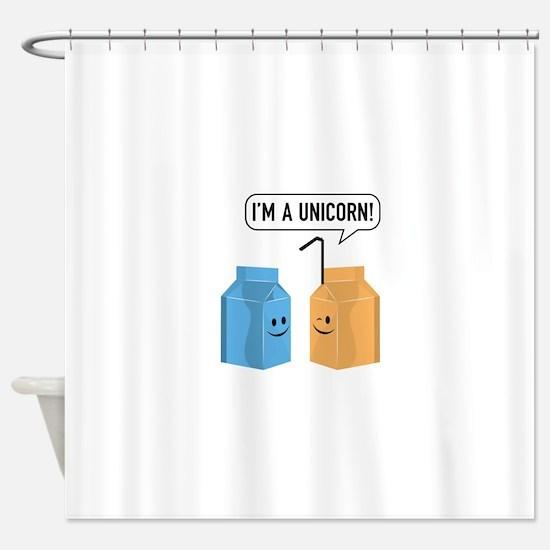 I'm A Unicorn! Shower Curtain