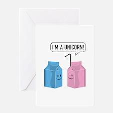 I'm A Unicorn! Greeting Card
