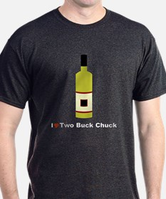 I Love Two Buck Chuck Wine T-Shirt