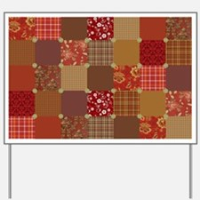 PRIM PATCHWORK Yard Sign