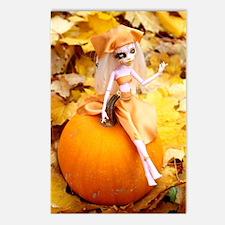 Pumpkin Fairy Postcards (Package of 8)