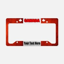 Flag Of Canada License Plate Holder