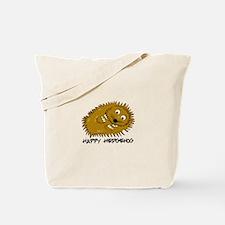 Happy Hedgehog Tote Bag