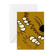 Spikey With A Side Of Attitude Greeting Cards