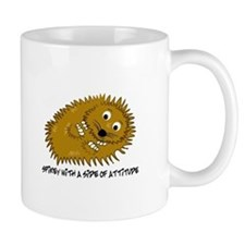 Spikey With A Side Of Attitude Mugs