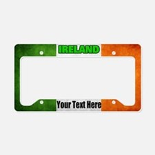Flag Of Ireland Custom License Plate Holder