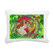Wren by RuthOlivarMillan Rectangular Canvas Pillow
