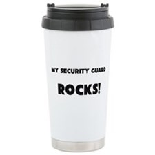 Cute Armed security guards Travel Mug