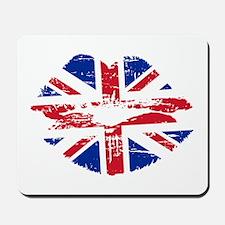 UK Flag Union Jack Lips Mousepad
