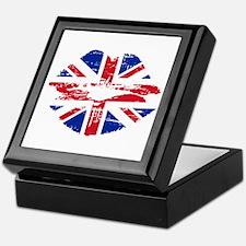 UK Flag Union Jack Lips Keepsake Box