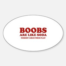 Boobs Are Like Soda Decal