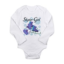 Skater Girl Long Sleeve Infant Bodysuit