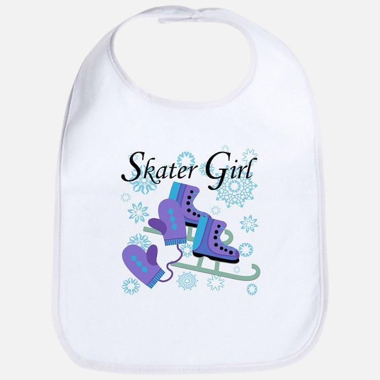 Skater Girl Bib