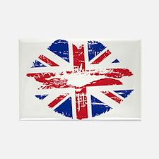 UK Flag Union Jack Lips Magnets