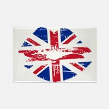 UK Flag Union Jack Lips Magnets