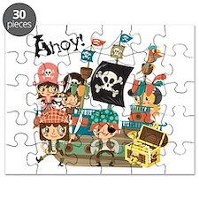 Pirates Ahoy Puzzle
