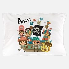 Pirates Ahoy Pillow Case