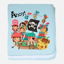 Pirates Ahoy baby blanket