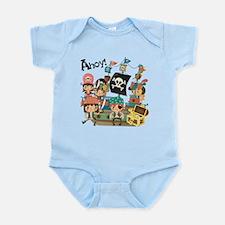 Pirates Ahoy Infant Bodysuit