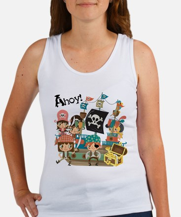 Pirates Ahoy Women's Tank Top