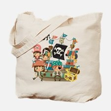 Pirates Ahoy Tote Bag
