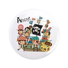 "Pirates Ahoy 3.5"" Button"