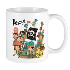 Pirates Ahoy Small Mug