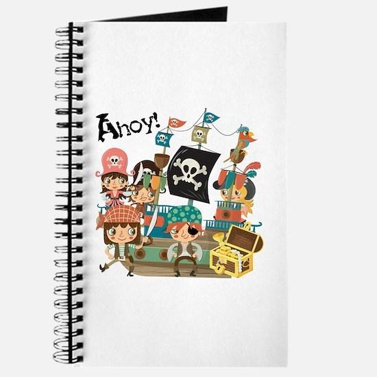 Pirates Ahoy Journal