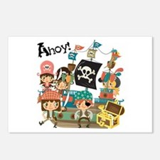 Pirates Ahoy Postcards (Package of 8)
