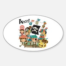 Pirates Ahoy Decal