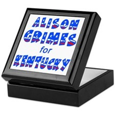 ALISON GRIMES for KENTUCKY Keepsake Box
