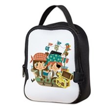 Pirates With Treasure Neoprene Lunch Bag