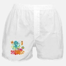 Welcome to the Ocean Boxer Shorts
