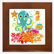 Welcome to the Ocean Framed Tile