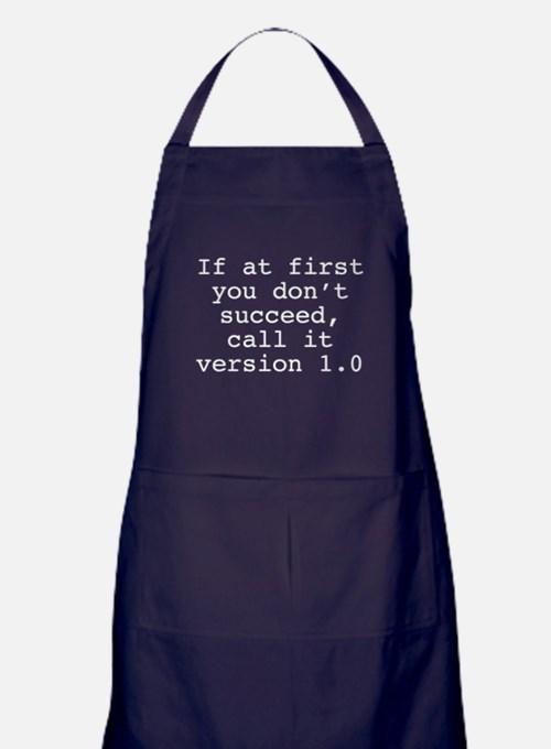 Call It Version 1.0 Apron (dark)