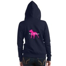 Unique Rescue a pet Women's Zip Hoodie
