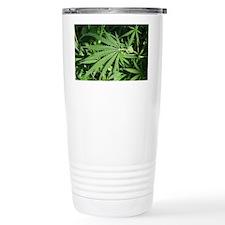 Marajuana Weed Pot Travel Mug
