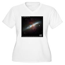 M82 Hubble Herita T-Shirt