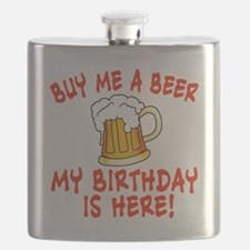 Buy Me a Beer My Birthday is Here Flask