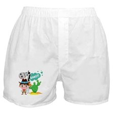 Cowboy and Horse Boxer Shorts