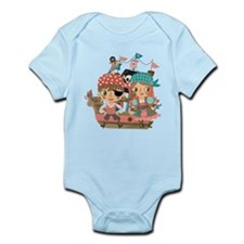 Girly Pirates Infant Bodysuit