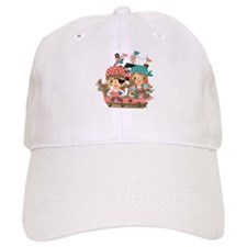 Girly Pirates Baseball Cap