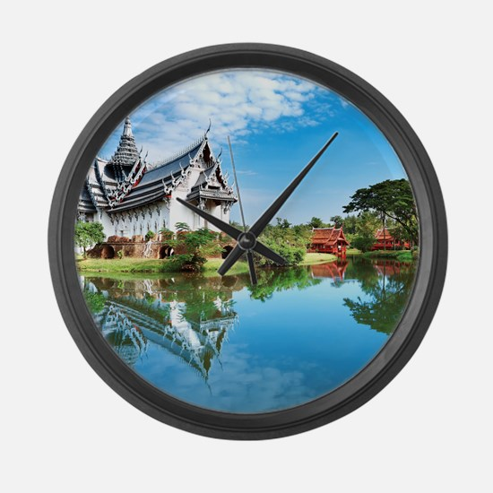 Ancient Siam Large Wall Clock