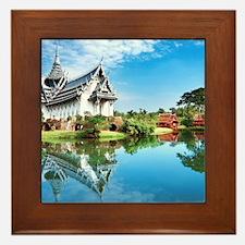 Ancient Siam Framed Tile