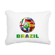 Brazil Rectangular Canvas Pillow